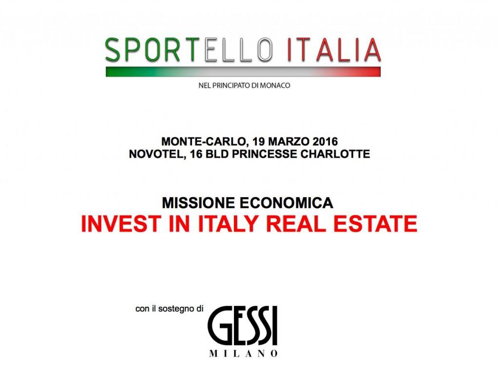 Sportello Italia - 19 Marzo