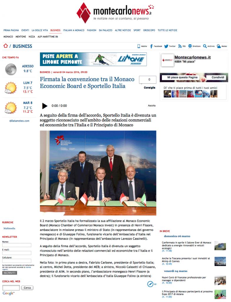MontecarloNews-Firmata-la-convenzione-tra-il-Monaco-Economic-Board-e-Sportello-Italia