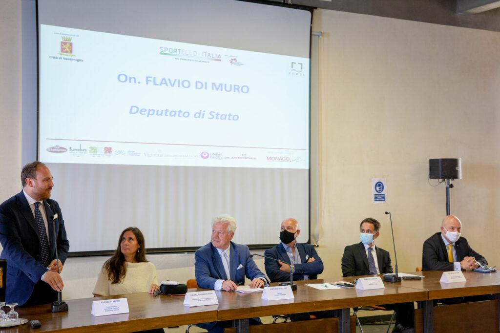 L'intervento dell'onorevole Flavio Di Muro